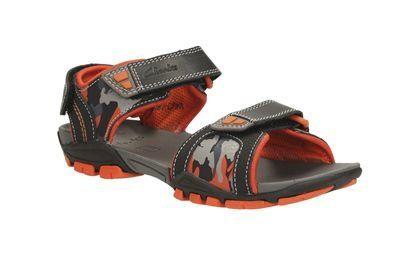 Clarks Sandals - Black multi - 0616/07 ZALMO GO JNR