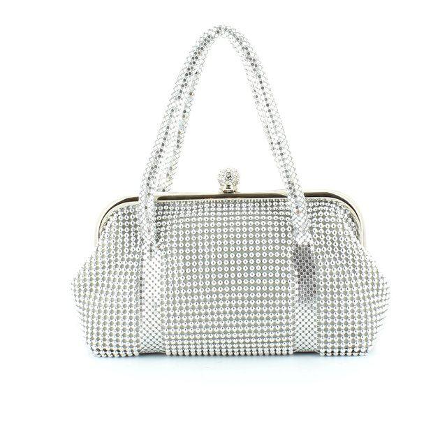 Claudia Canova 8987-26 Silver matching handbag