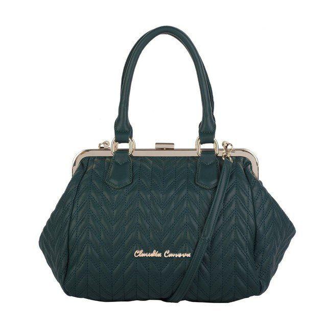 Claudia Canova Roanne 8213-78 Green handbag