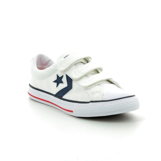 Converse Trainers - White multi - 315660/194 Star Player 3V OX Velcro