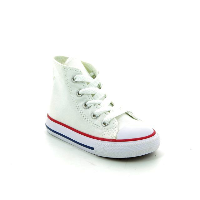 Converse Trainers - White - 7J253C/102 Infants Chuck Taylor All Star Classic HI Tops
