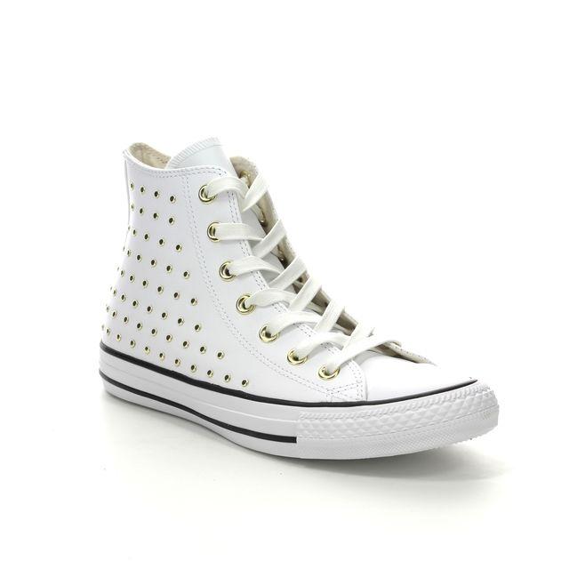 Converse Trainers - White - 561683C ALLSTAR HI STUDS