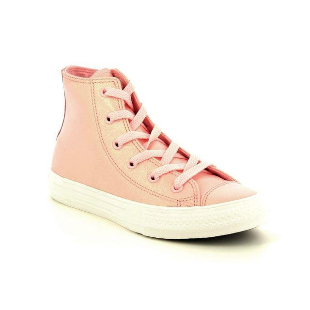 Converse Trainers - Pink - 661827C ALLSTAR HI TOP