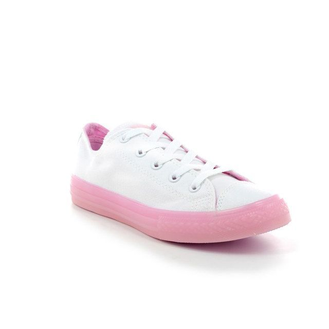 be3024c4f671b6 Clarks Piper Chat Inf G Fit Pink trainers