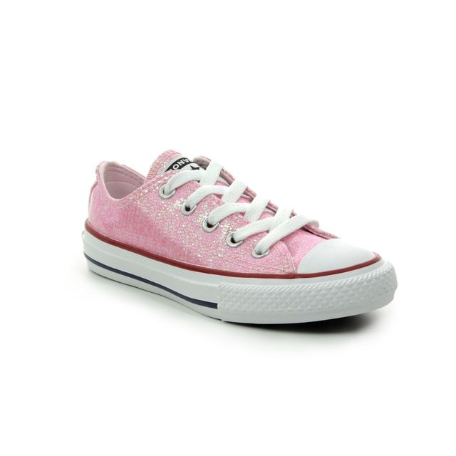 Converse Trainers - Pink - 663628C ALLSTAR OX JUNIOR