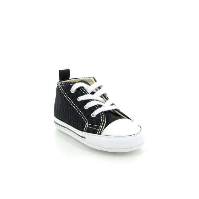 Converse First Shoes - Black - 8J231/871 FIRST STAR HI CRIB