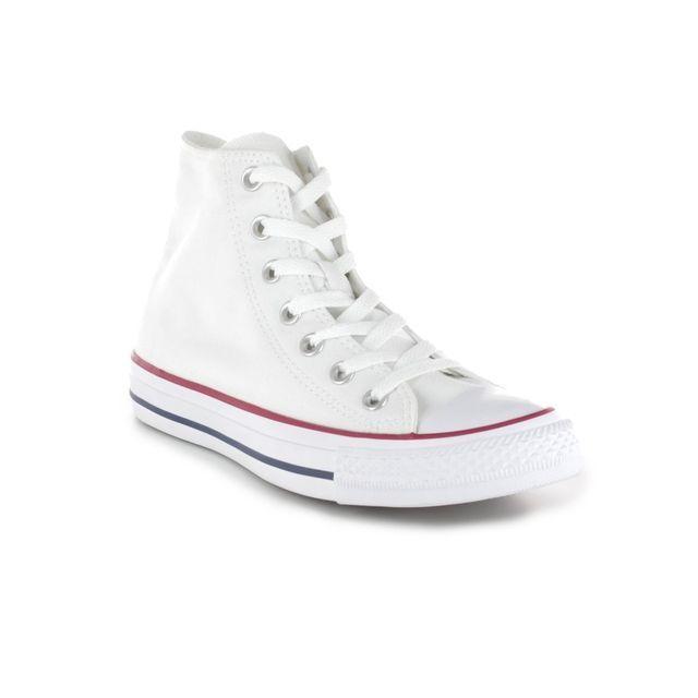 Converse Trainers - White - M7650C All Star HI Top Optical White