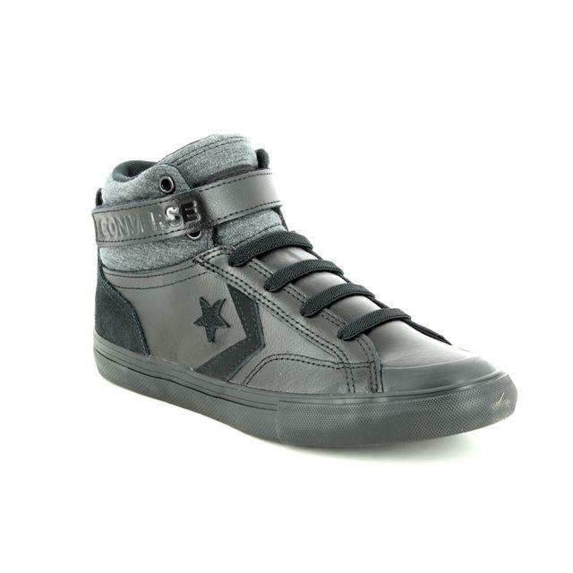 Converse Pro Blaze Hi 662817C-30 Black leather trainers