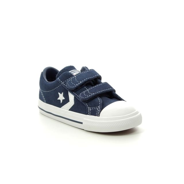 Converse Star Player 2v 765892C-008 Navy Suede trainers