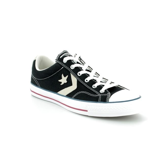 Converse Trainers - Black - 144145C STAR PLAYER OX