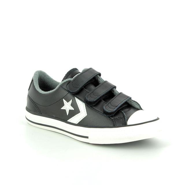 3f7396b29a50 Converse 7V603C 871 CHUCK TAYLOR 2V OX Velcro1 Black Kids trainers