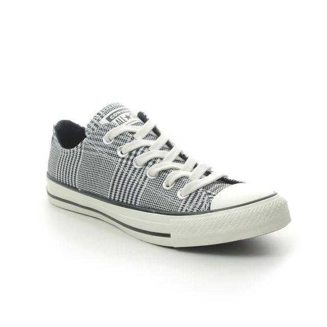 Converse Trainers - Light Grey - 568897C ALLSTAR OX TARTAN