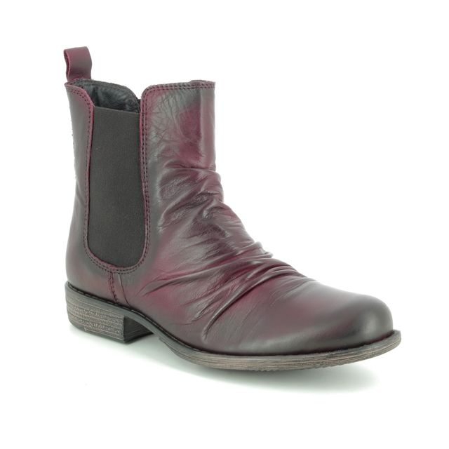 Creator Chelsea Boots - Wine leather - IB 1058/81 MUSKECH