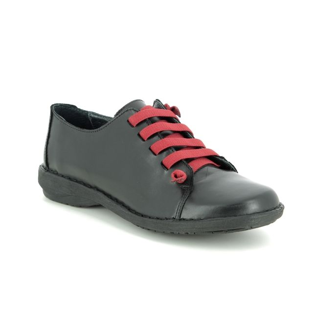 Creator Lacing Shoes - Black leather - IB 1047/30 NOTELLA