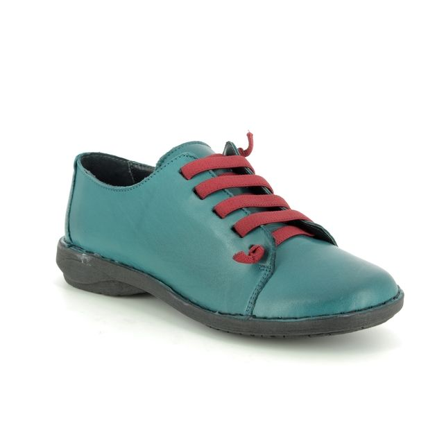 Creator Comfort Shoes - Turquoise Leather - IB 1047/94 NOTELLA