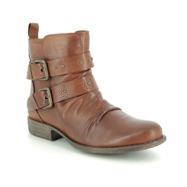 Creator Ankle Boots - Tan Leather - IB18328/10 PEEROUT