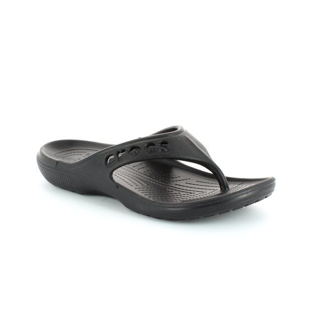 Crocs Mens & Womens - Black - 11999/001 BAYA FLIP