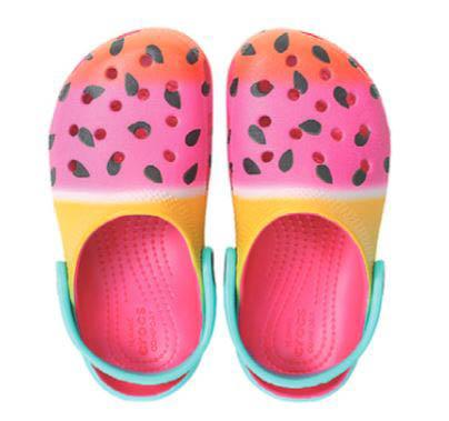Crocs Classic Clog K 205653-6X0 Pink multi shoes