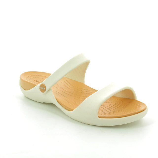 3078274780f Crocs Cleo V 204268-23D Dark Brown shoes