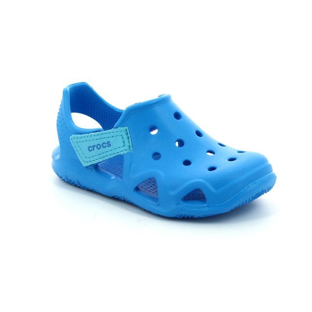 Crocs Jnr Swiftwave 204021-456 Blue shoes