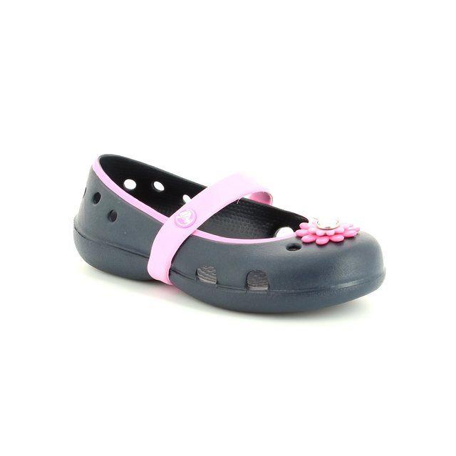 Crocs Summer Shoes - Navy multi - 15399/4L7 KEELEY PETAL