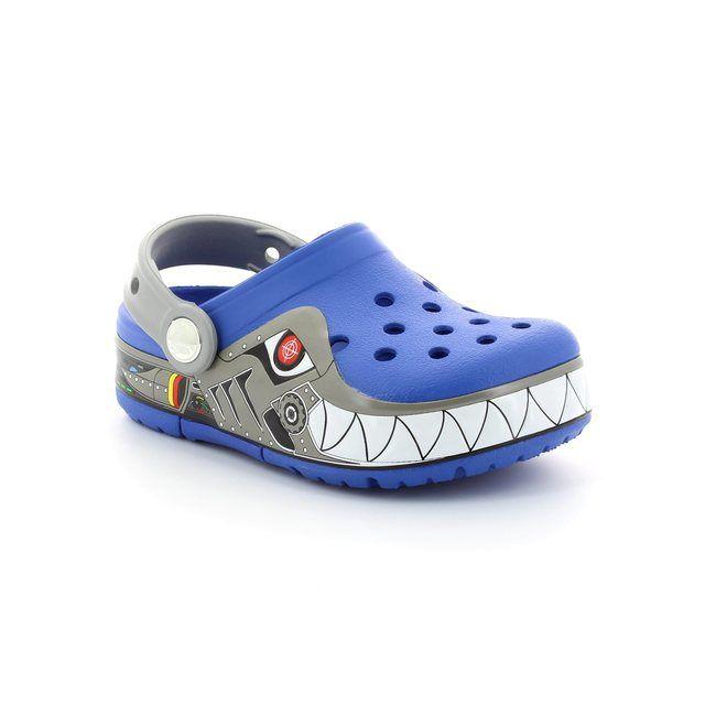 Crocs Sandals - Blue multi - 15362/486 ROBO SHARK CLO