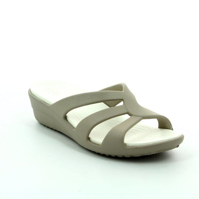Crocs Sandals - Platinum - 204010/018 SANRAH STRAPPY