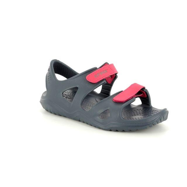 Crocs Sandals - Navy Multi - 204988/4BA SWIFTWATER KID