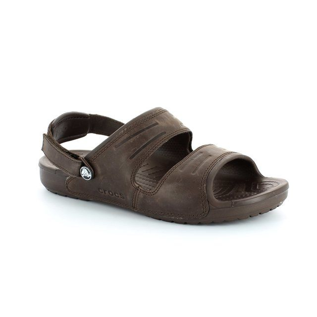 Crocs Yukon Sandal 14325-2L3 Dark Brown shoes