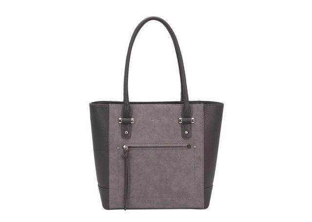 David Jones Handbag - Dark Grey - 5556/A2 5556A-2 MED HOBO