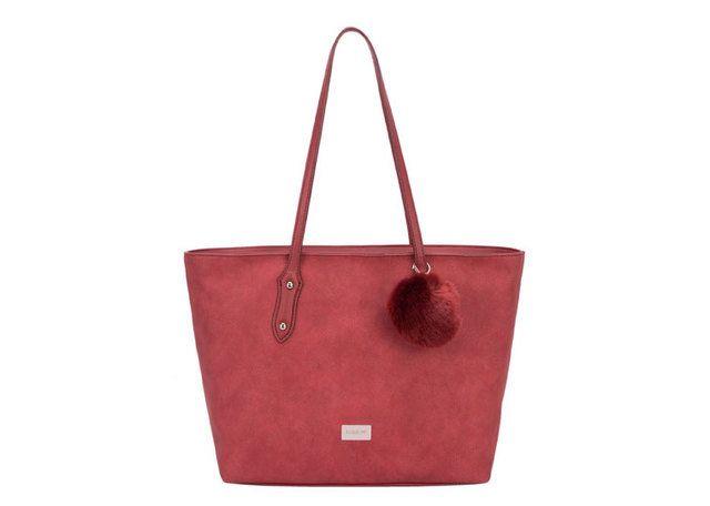 David Jones Cm3217 Shopper 3217-08 Dark Red bags