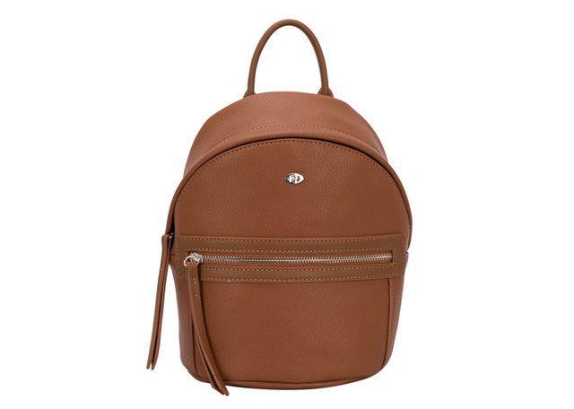 David Jones Cm3520 Sml backpack 3520-10 Tan handbag