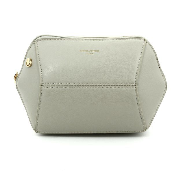David Jones Evening 5528-10 Light grey handbag