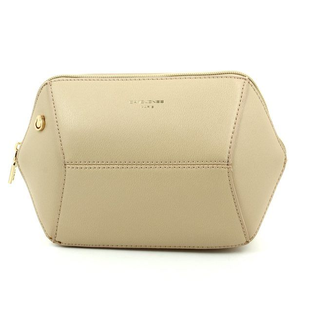 David Jones Handbag - Beige - 5528/15 5528-1 EVENING