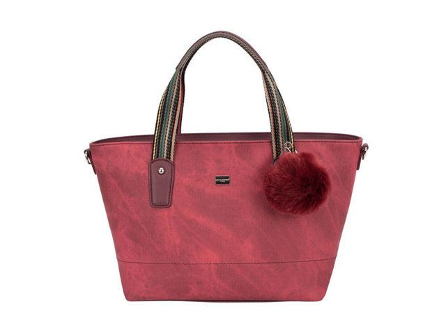 David Jones Handle 5248-18 Dark Red bags