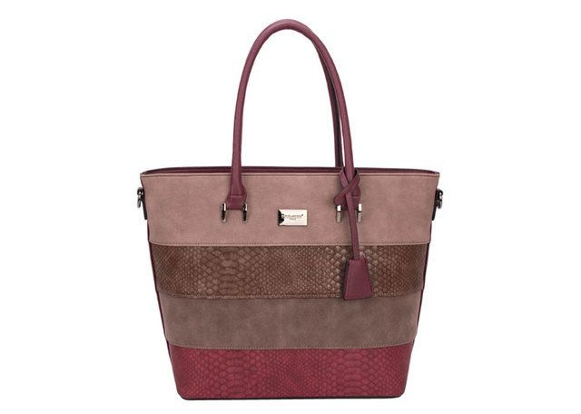David Jones Hobo 5256-28 Dark Red bags