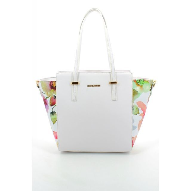 David Jones Handbag - White multi - 5541/26 5541-2   HOBO