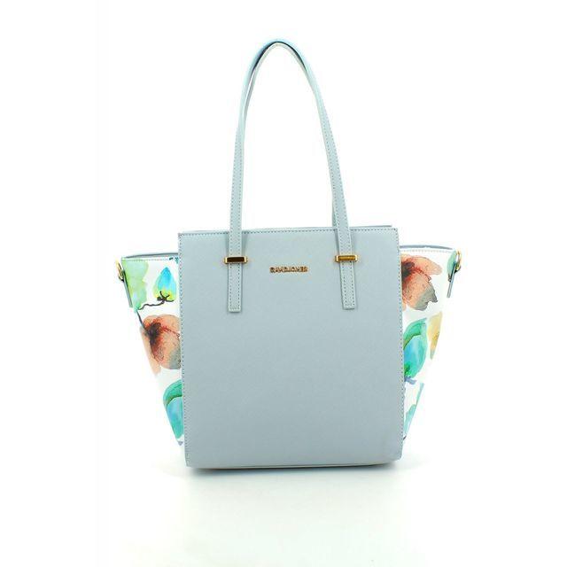 David Jones Handbag - Blue multi - 5541/27 5541-2   HOBO