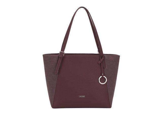 David Jones Handbag - Wine - 5606/28 5606-2  LGE HOBO