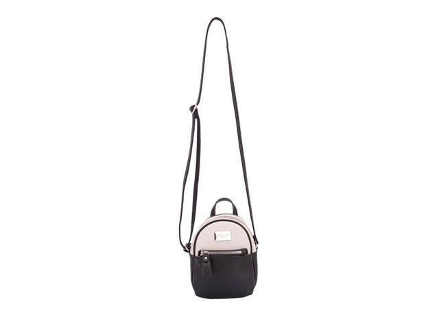 David Jones Mini Backpack 5507-13 Black multi handbag
