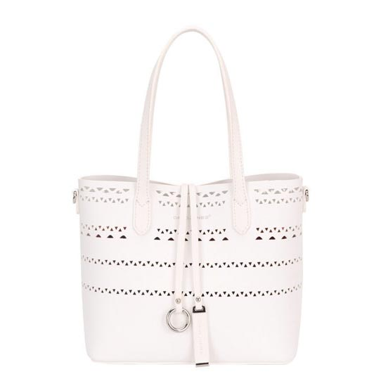 David Jones Handbag - White - 5905/66 ROMILLY SHOULD