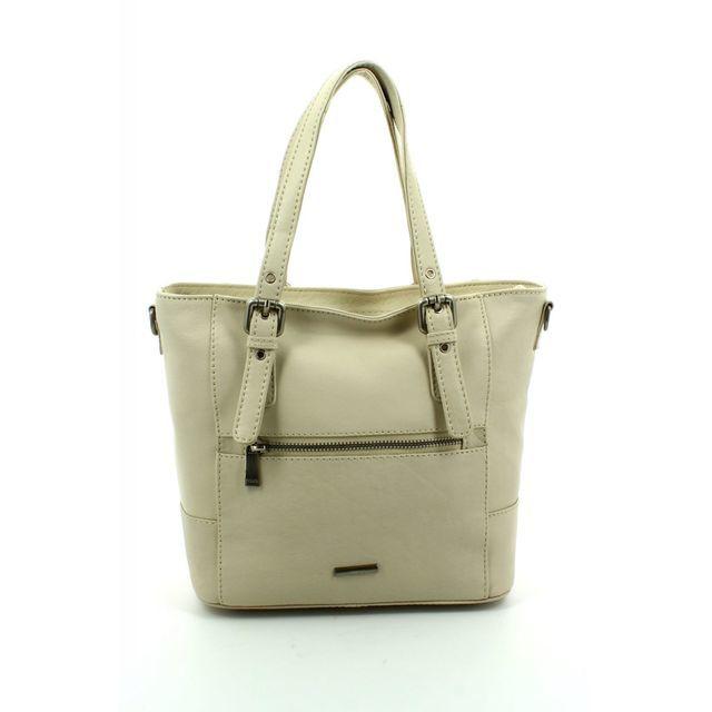 David Jones Small Hobo 0837-50 Ivory handbag