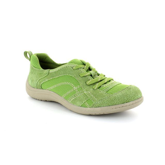 Earth Spirit Atlanta 00195-23 Green lacing shoes