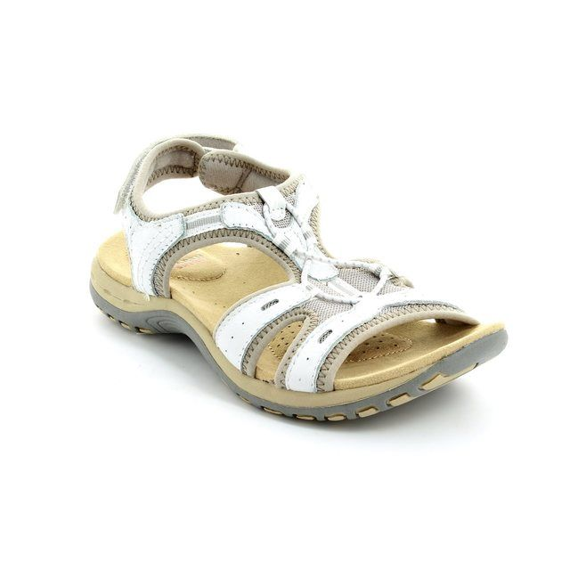 Earth Spirit Columbia 21049-60 White sandals