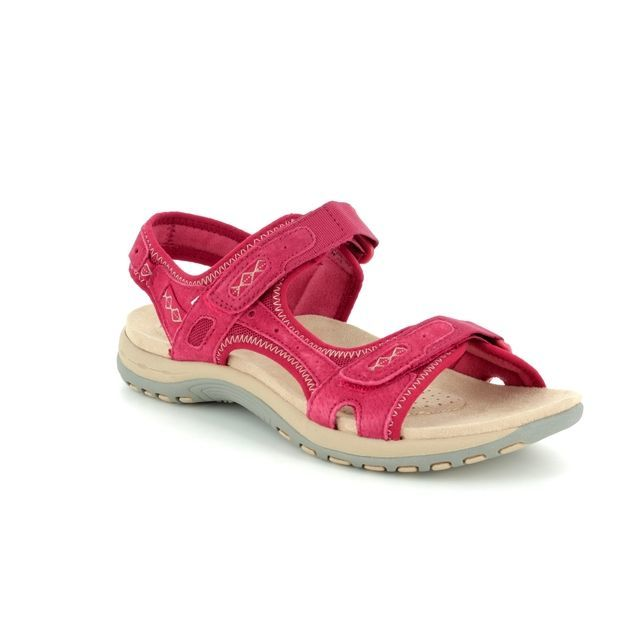 Earth Spirit Frisco 28090-80 Red Walking Sandals