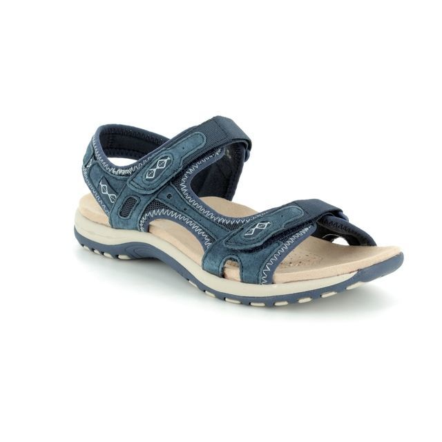 Earth Spirit Frisco 28093-70 Navy Walking Sandals