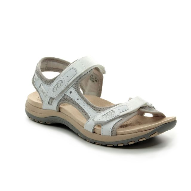 Earth Spirit Walking Sandals - White - 30234/66 FRISCO