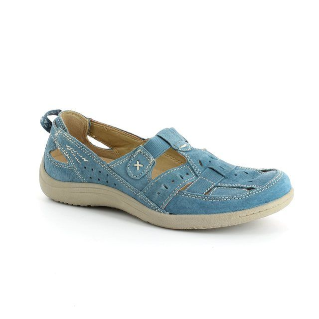 Earth Spirit Long Beach 00195-08 Blue comfort shoes
