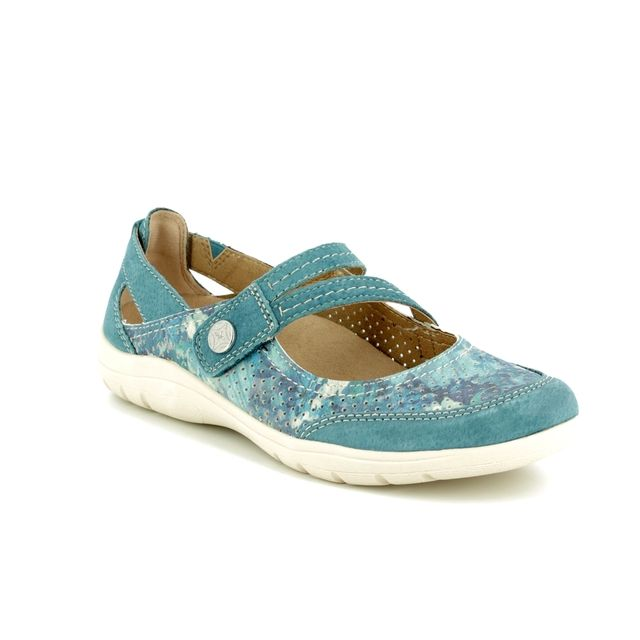 Earth Spirit Mary Jane Shoes - Blue - 28066/70 MARYLAND