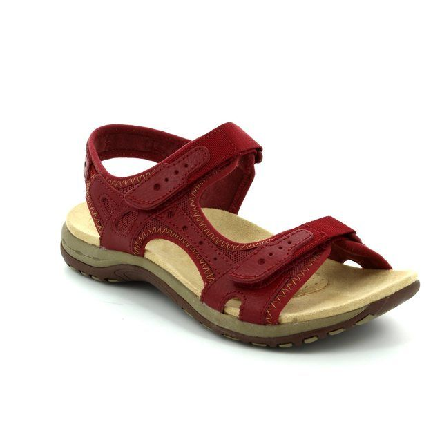 Earth Spirit Tyler 24120-60 Dark Red sandals